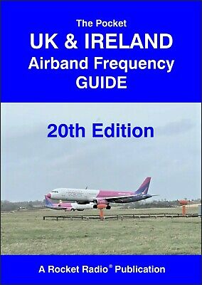 Pocket UK & Ireland Radio Scanner Airband Aviation Frequency Guide 19 2015
