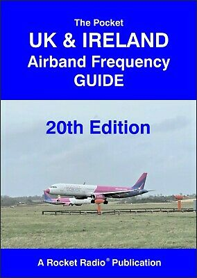 UK & Ireland Radio Scanner Airport Aircraft Airband Aviation Frequency Guide