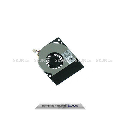 Genuine NEW Dell Latitude E4300 CPU Cooling Fan WM598 CN-0WM598 GB0555PDV1-A OEM