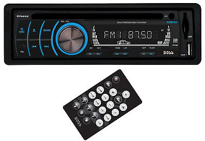 New Boss BV6652 In Dash DVD/MP3/CD Car Player USB/SD AUX Receiver Audio Stereo