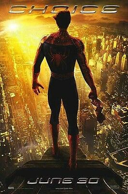 SPIDER-MAN 2 ~ CHOICE 27x40 MOVIE POSTER Tobey Maguire NEW/ROLLED!