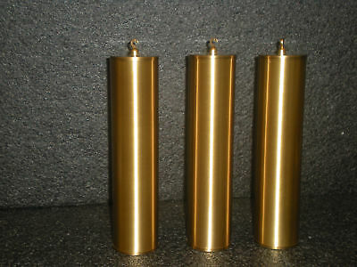Brushed Brass Weight Shells Without Cores For Grandfather Clock.