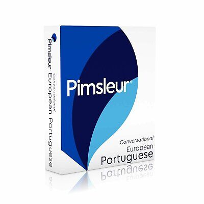 New Pimsleur 5 CD European Portuguese Language ( (Play in you car )