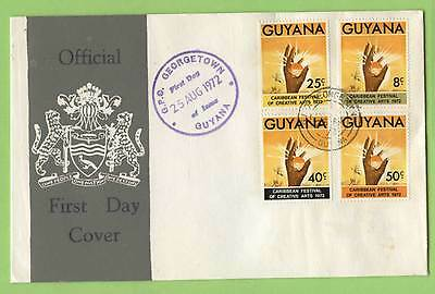 Guyana 1972 1st Caribbean Festival of Arts First Day Cover