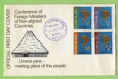 Guyana 1972 Conference of Foreign Ministers Non-aligned Countrie First Day Cover