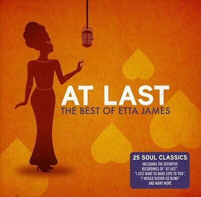 Etta James - At Last - The Best Of Etta James - 2012 (NEW CD)