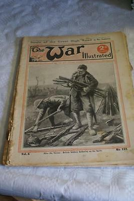 THE WAR ILLUSTRATED WW1.January 6 1917.Great High Road/Hazy Trench