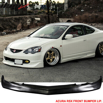 02-04 Acura RSX DC5 Coupe Mugen Black PU Urethane Front Bumper Lip Spoiler