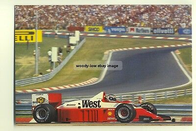 su85 - Zakspeed Turbo Formula 1 Racing Car - postcard
