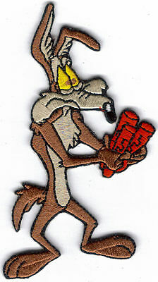 WILE E COYOTE DYNAMITE EMBROIDERED PATCH !