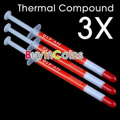 3 Pcs Termica Grease Compound dissipatore Paste CPU VGA HF