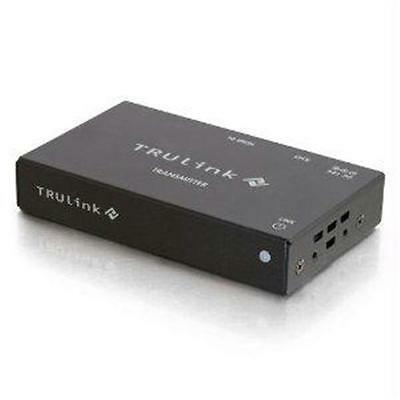 TRULINK HDMI OVER CAT5 BOX TRANSMITTER EXTEND AN HDMI SIGNAL UP TO 300FT 1080P W
