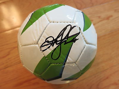 Stefan Frei Signed Soccer Ball Coa + Proof! Sounders Autographed
