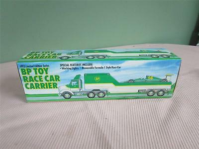 1993 BP Gas & Oil Toy Race Car Carrier Limited Edition