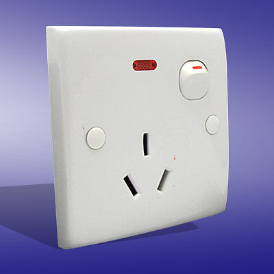 Household Australia Socket Button Outlet Wall Plate