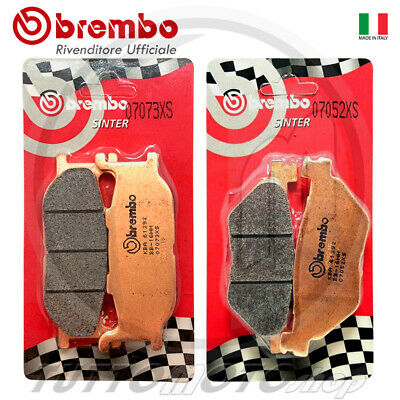 Kit Pastiglie Freno Brembo Sinter Yamaha Tmax 500 2001 2002 2003 Ant+ Post T-Max