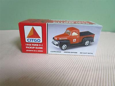 1996 CITGO 1948 Ford F-1 Pickup Bank MIB 7th in a series