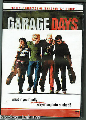 Garage Days (DVD, 2004) Kick Gurry Pia Miranda Maya Strange