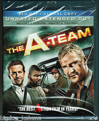 The A-Team (Blu-ray Disc, 2010, 2-Disc, Unrated Extended Cut; Digital Copy) New