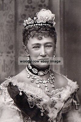 mm951 - Queen Louise of Denmark - Royalty photo 6x4