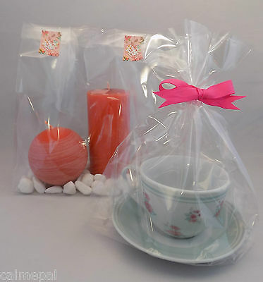 "5000 x Clear Cello Gift Party Display Sweet Bags  Gusset 12""  x 7"" x 4.75"""