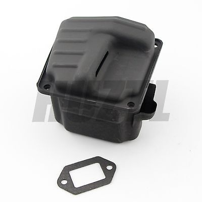 Stihl 044 046 MS460 Dual port muffler front Cover  Rep 1128 140 0801 MS440