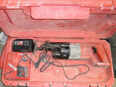 Milwaukee Cordless Sawzall 18V 6515-20 w/battery charger case Variable Speed