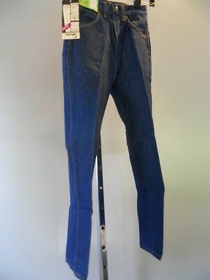 Nos New Wave Vintage 1980s Wrangler Jeans Euro Straight High Waist Rise 12 Slim