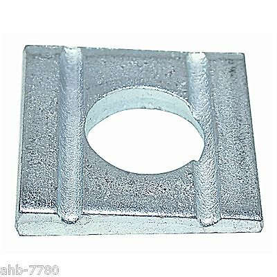 square washer DIN 434, galvanized,mainly for U-rail