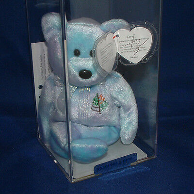 Issy New York Hand Signed TY Authenticated - Ty Beanie Baby (11139)