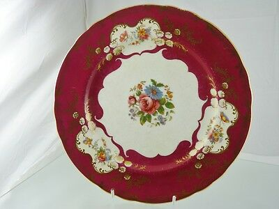 PARAMOUNT 7700 DINNER PLATE BY JOHN AYNSLEY & SONS ENGLAND as found condition