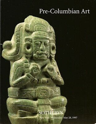 SOTHEBY'S PRE-COLUMBIAN ART PERU MAYA GOLD Auction Catalog 1997