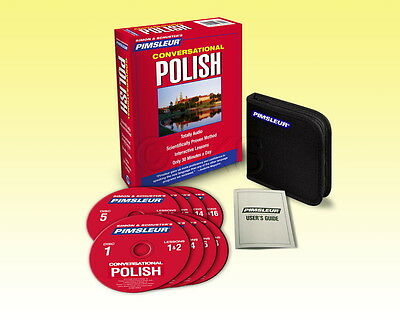 New 8 CD Pimsleur Learn to Speak Polish Language (16 Lessons)