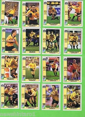 #d56. 1991  Australia Rugby Union World Cup Cards