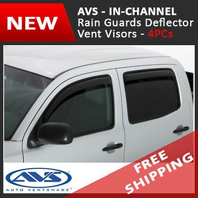 For 03-09 Dodge Ram 1500 2500 Cab Side Window Deflector with Vent Shade Visors