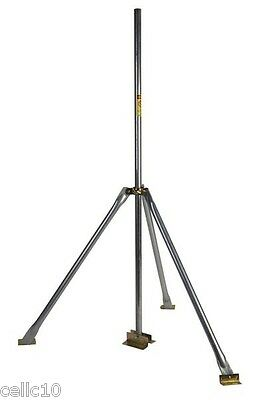 3' Tripod & 5' Double Footed Mast -EZ TRI-5 - CB HAM TV DISH WIFI Antenna Mount