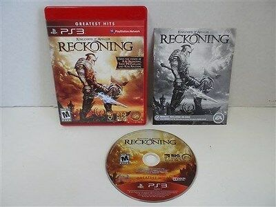 74363 PS3 Kingdoms of Amalur: Reckoning Greatest Hits NTSC COMPLETE