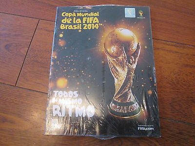 2014 Fifa World Cup Brazil Official Spanish Version Programme