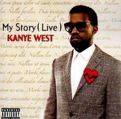 Kanye West - My Story (Live) (NEW CD)