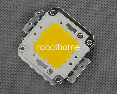 50W Pure White High Power LED SMD 3000-3500K 4500-5000LM Integration New