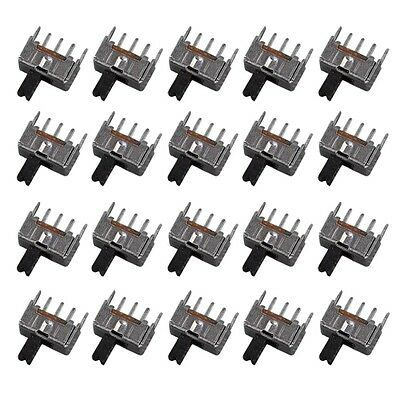 20pcs Mini Slide Switch SPDT 2.0mm Pitch 2 Tap Position 3Pin I