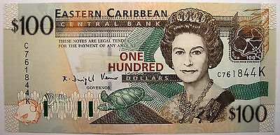 CARAÏBES - Saint KITTS ou St Christopher et Nevis - 100 Dollars - 2003 - Neuf