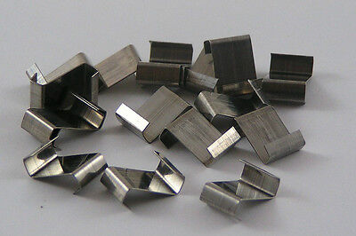 STAINLESS STEEL Z clips Greenhouse Z Glazing Glass Clips FREE delivery 25 50 100
