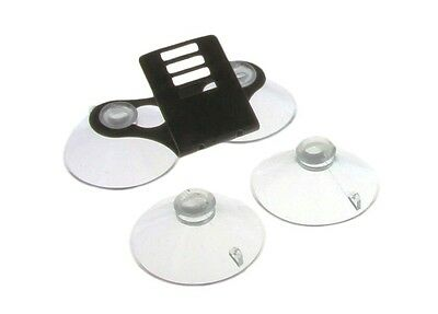 Windshield Bracket w/ 4 Suction Cups For Beltronics Radar Detectors