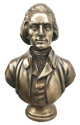 Bust Of President Thomas Jefferson Sculpture Statue Declaration Of Independence