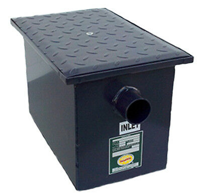 PDI Certified Commercial 20LB (10 G.P.M) Grease Trap