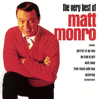 Matt Monro ( New Sealed Cd ) Very Best Of / 20 Greatest Hits / Collection