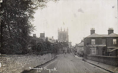 Newport Pagnell. Street to Church.
