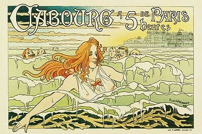 AP24 Vintage 1896 French Paris Livermont Advertisement Poster Print A1/A2/A3/A4