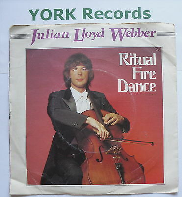 "JULIAN LLOYD WEBBER - Ritual Fire Dance - Ex Con 7"" Single RCA Red Seal RB 5445"